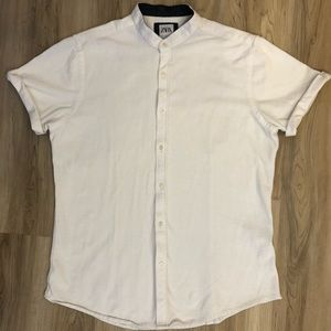 Zara Mandarin Collar Slim Fit Shirt